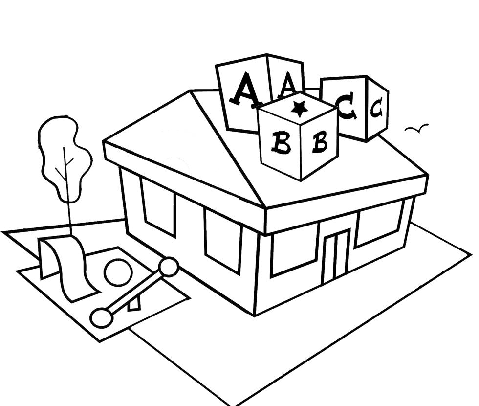 disegni da colorare per bambini della scuola materna