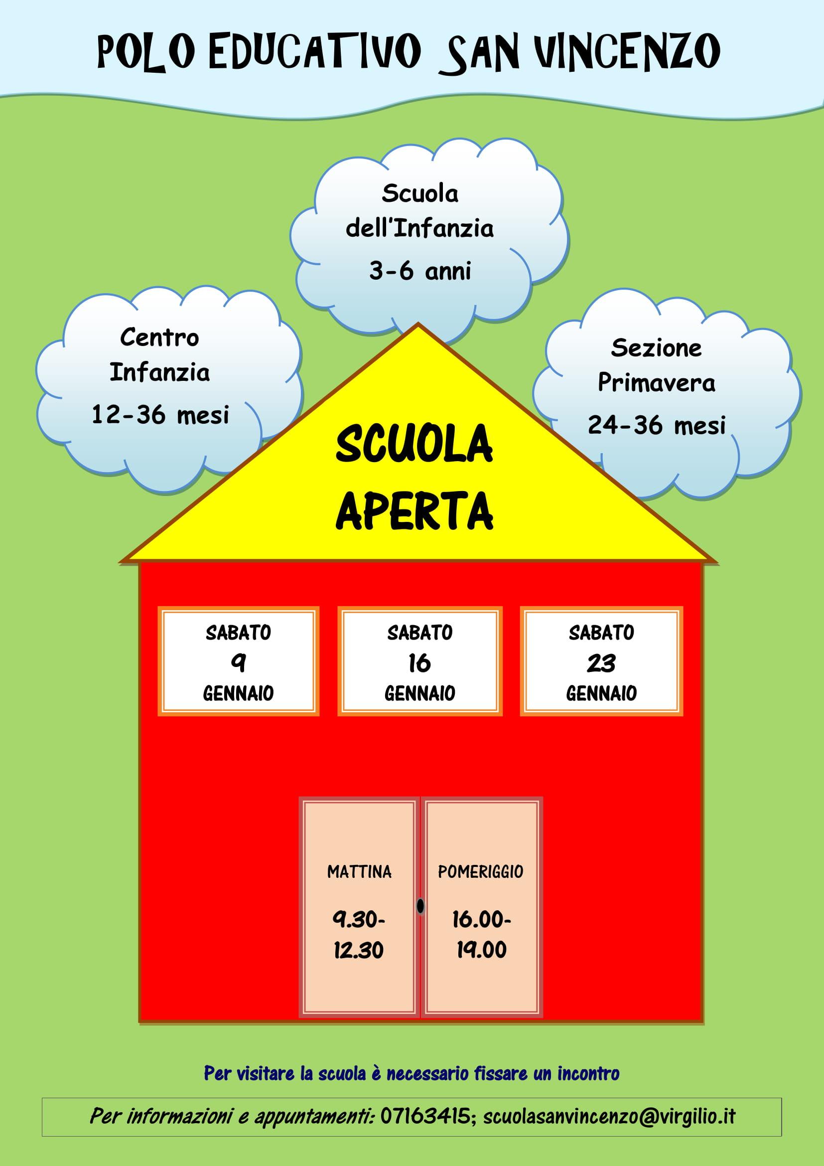 Scuola aperta iscrizioni 2021-2022